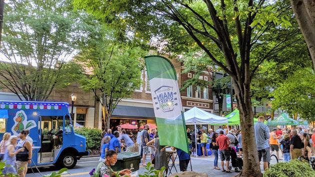 Heritage Main Street Fridays in Greenville, SC