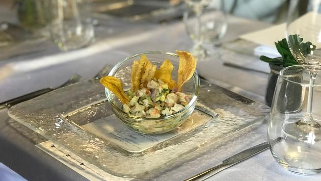 Cayman Islands Ceviche With Plantain Chips