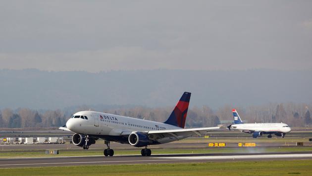 A Delta Air Lines Airbus A319