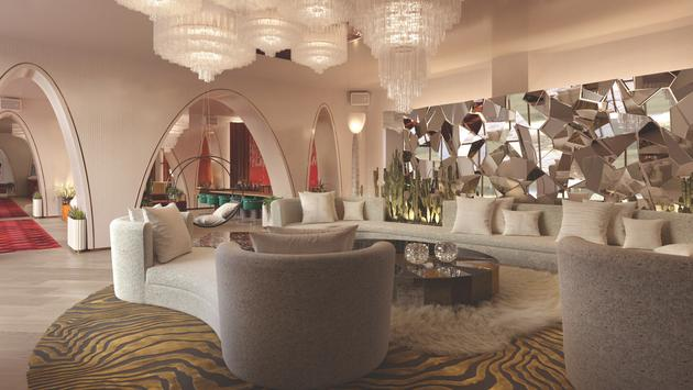 Virgin Hotels Las Vegas' Harmon Lobby Lounge