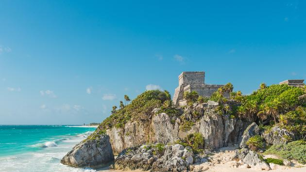 The Gods of Wind Temple in Tulum, Mexico