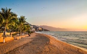 Sunset in Puerto Vallarta, Mexico
