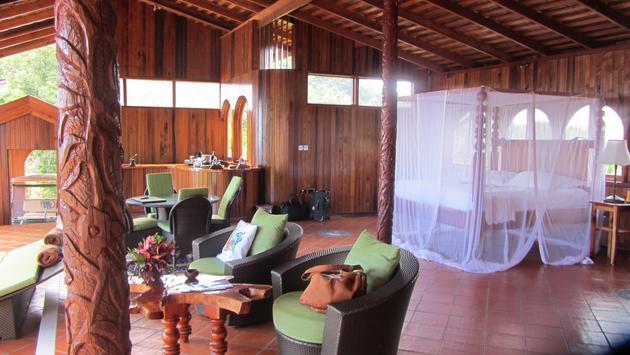 Ladera resort near Saint Lucia's Piton mountains