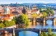The bridges of Prague, Czech Republic