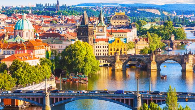 The bridges of Prague, Czech Republic
