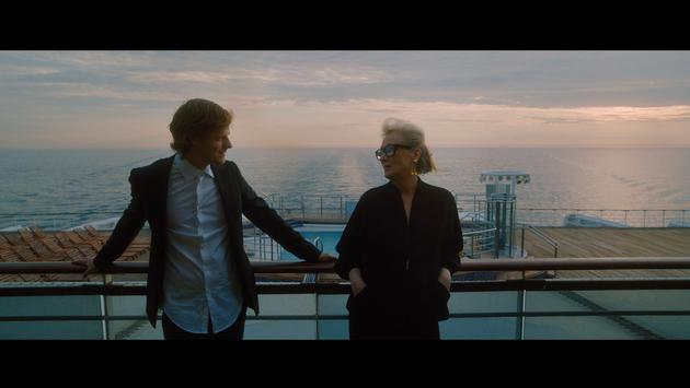 Actors Meryl Streep and Lucas Hedges on QM2
