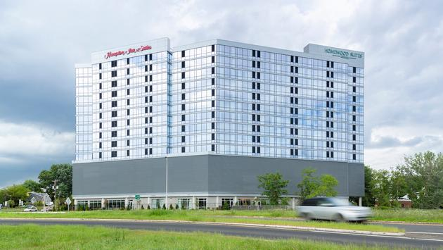 Hampton Inn by Hilton Teaneck Glenpointe and Homewood Suites by Hilton Teaneck Glenpointe