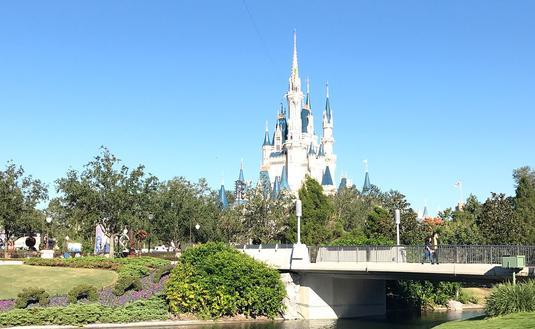 View of Cinderella Castle at Magic Kingdom