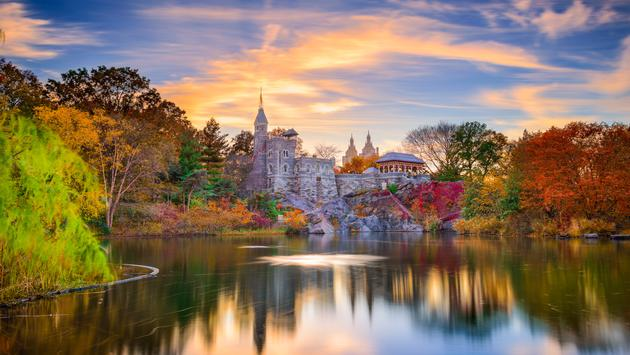 Belvedere Castle; New York, New York.