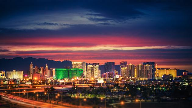 PHOTO: Las Vegas Skyline at Dusk (photo via welcomia / iStock / Getty Images Plus)
