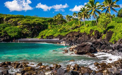 PHOTO: Waianapapa State Park, Maui (photo via ShaneMyersPhoto / iStock / Getty Images Plus)