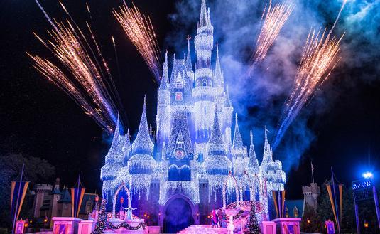 PHOTO: Cinderella Castle in Disney World (photo via Matt Stroshane, photographer / Walt Disney World)
