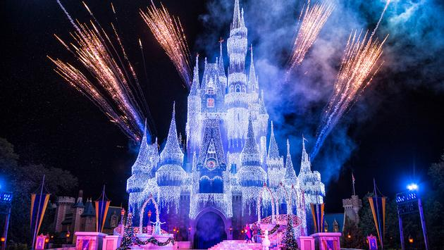 PHOTO: Cinderella Castle in Disney World (photo via Matt Stroshane, photographer / Walt Disney World)