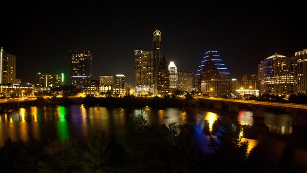 PHOTO: austin at night (photo via Ed Schipul / Flickr / Creative Commons)
