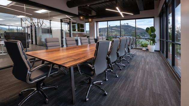 Avoya Travel Innovation Center Boardroom.