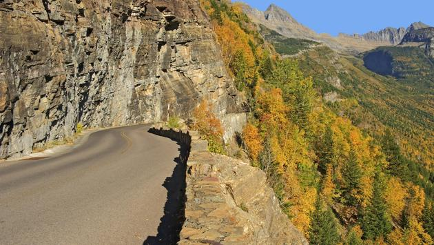 Going-to-the-Sun Road in Glacier National Park
