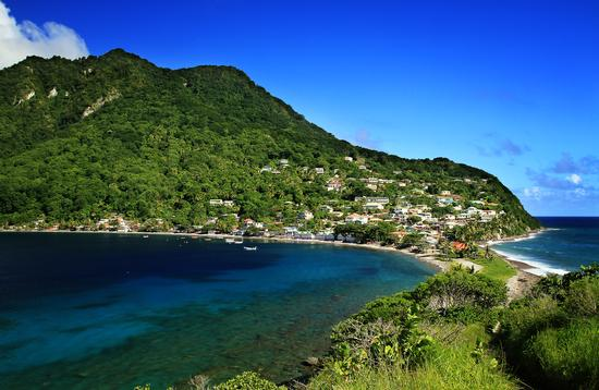 Scotts Head, Dominica, Caribbean