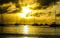 British Virgin Island Sunset