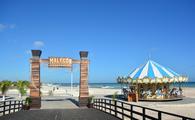 Malecón del puerto de Progreso en Yucatán. (Foto de  SEFOTUR)