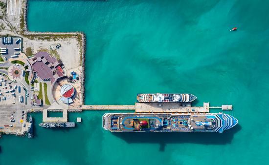 Promueven al puerto de Progreso en Yucatán como destino de cruceros. (Foto de SEFOTUR)
