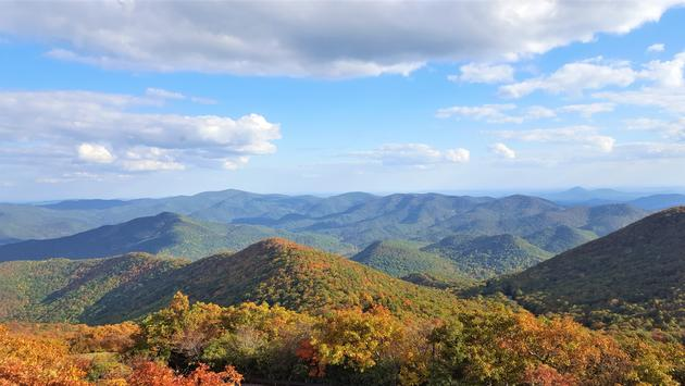 Mountain in Chattahoochee-oconee National forest