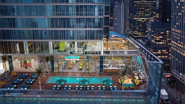 Margaritaville Times Square rendering.