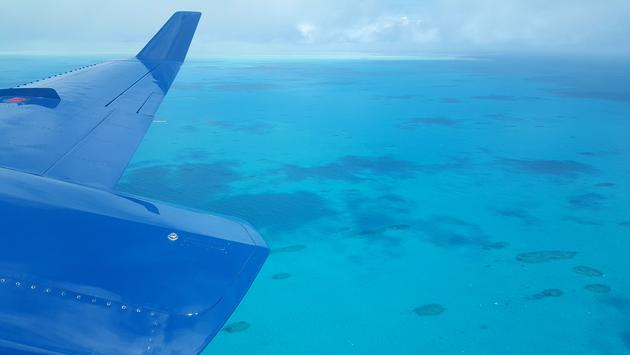 Above the Turks & Caicos