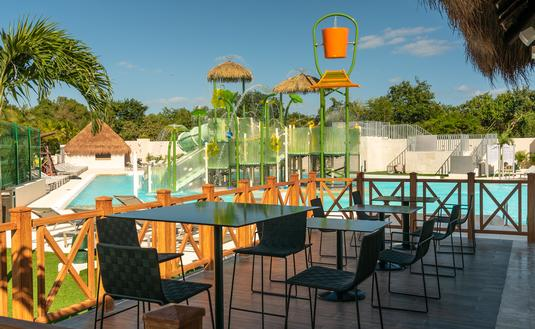 The new waterpark at Paradisus Playa del Carmen