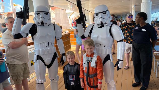 Stormtroopers on patrol