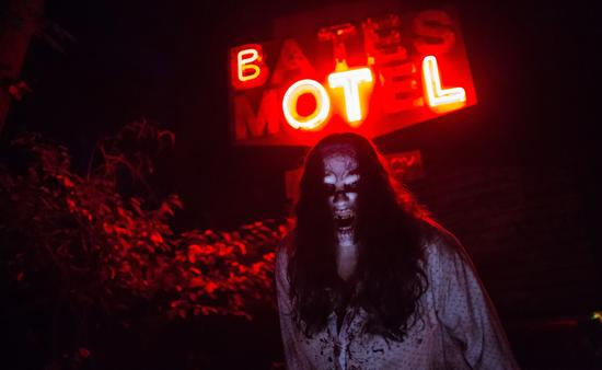 Bates Motel Haunted House