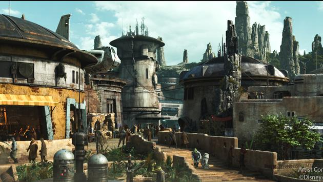 Star Wars: Galaxy's Edge Rendering