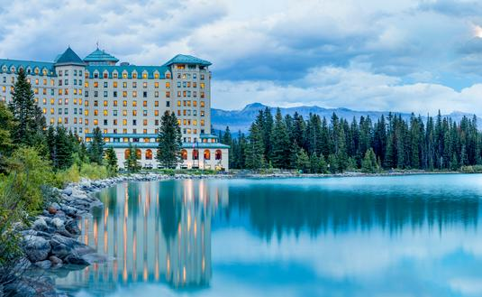 Fairmont Banff Springs; Lake Louise, Alberta, Canada.