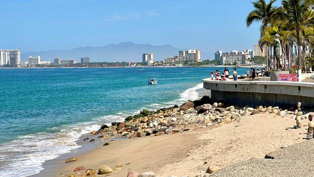 A view from downtown Puerto Vallarta