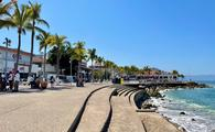 Malecon boardwalk in Puerto Vallarta