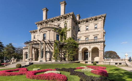 The Breakers; Newport, Rhode Island.