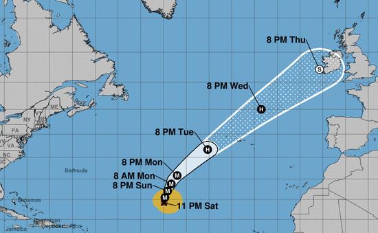 Hurricane, Lorenzo, storm