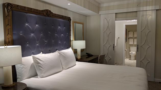 Bedroom at Disney's Riviera Resort