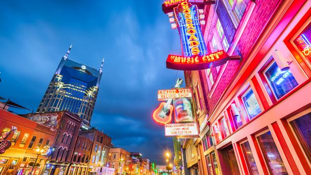Lower Broadway, Nashville, Tennessee