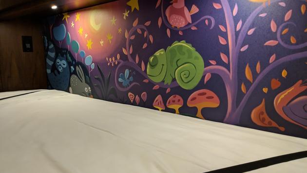 Artwork at Disney's Riviera Resort