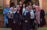 Prince Harryand Meghan Markle in Morocco