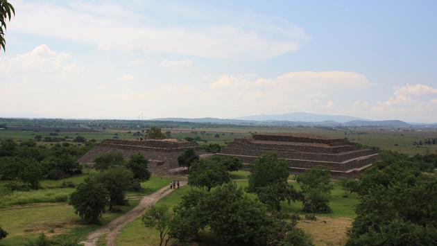Peralta Archaeological Zone in Guanajuato.