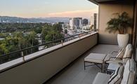 Waldorf Astoria Beverly Hills balcony