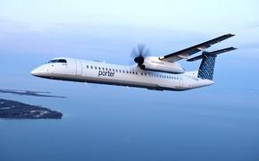 Un avion de Porter Airlines