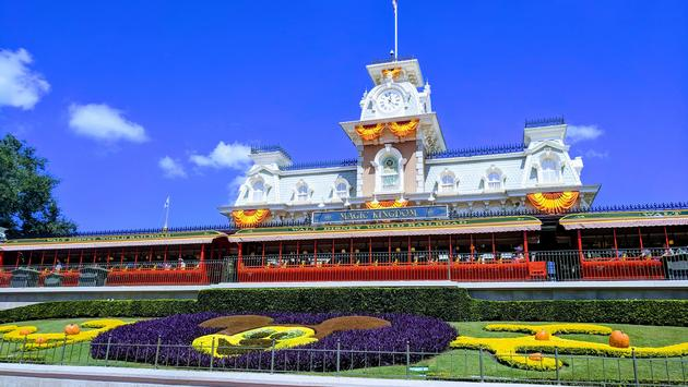 Magic Kingdom Entrance Walt Disney World Orlando, FL