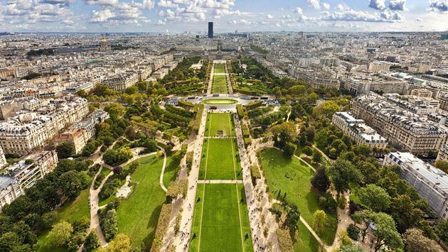 Champ de Mars, Paris France
