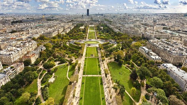 Champ de Mars, Paris France