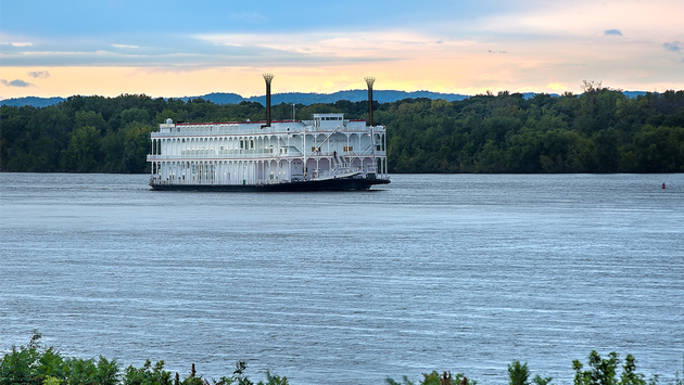 American Duchess - Leaving Winona at Sunset