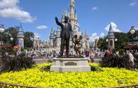 Partners Statues - Walt Disney & Mickey Mouse at Magic Kingdom