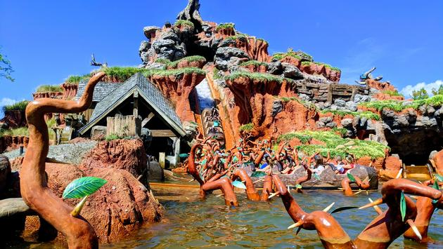 Splash Mountain at Magic Kingdom