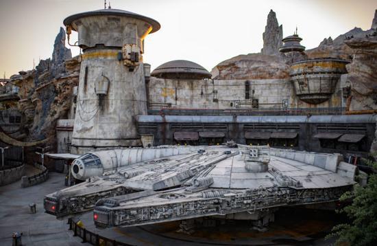 Parc Montée de la Résistance Star Wars